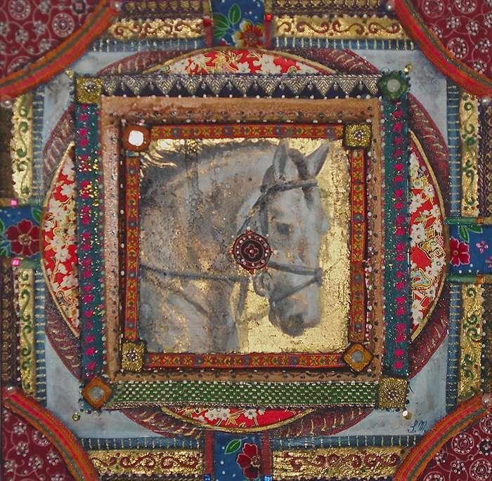 Horse Mandala - Simona Marziani