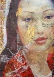 The red dress - Simona Marziani