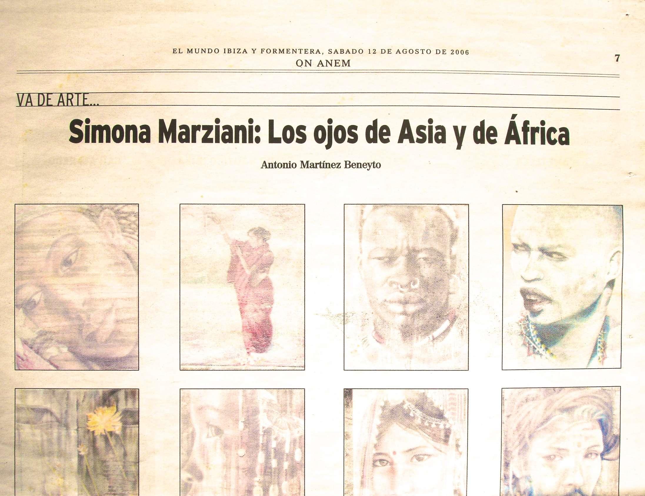 Press Ibiza - SIMONA MARZIANI