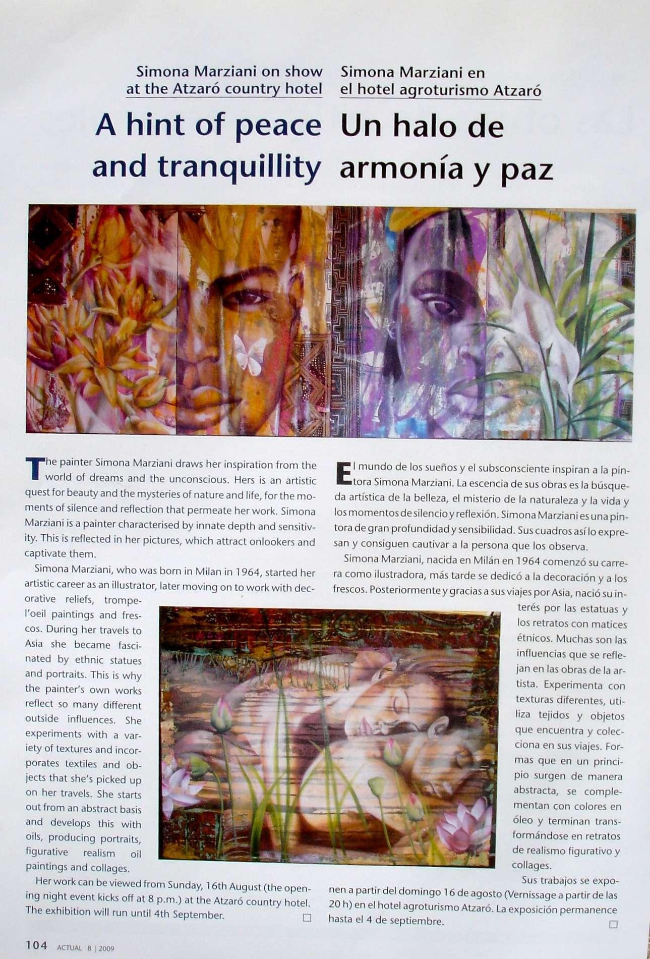Press Atzaro - SIMONA MARZIANI
