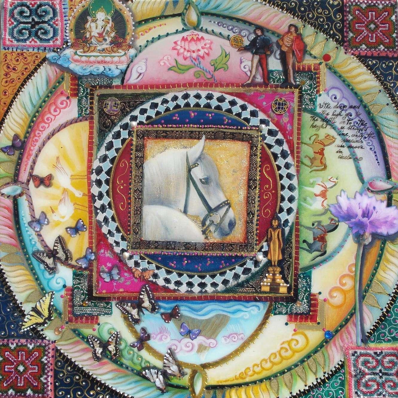 Mandala resina - Simona Marziani