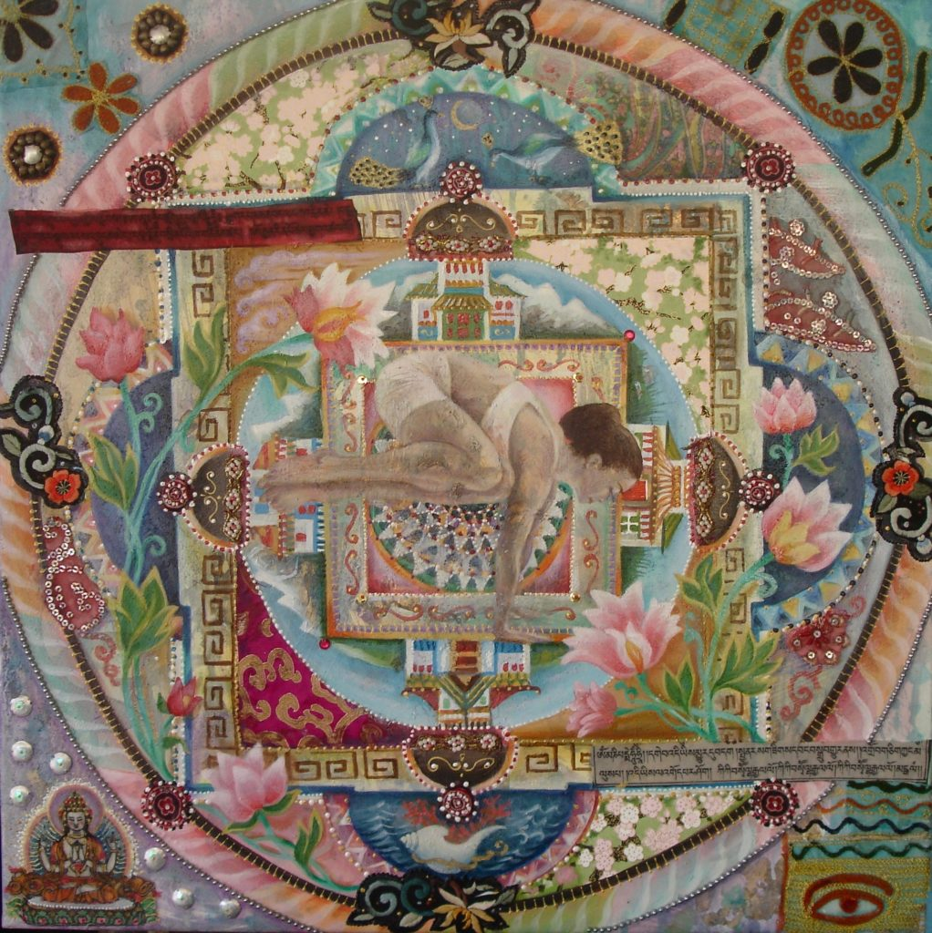 Tibetan yoga mandala